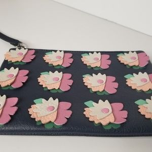 NEW | Fossil | Leather Clutch with Embellishments